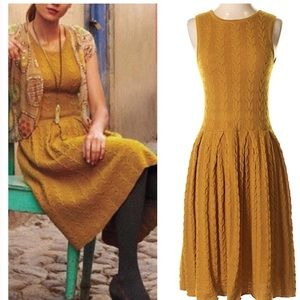 Anthropologie Far Away From Close   Wool Dress - S